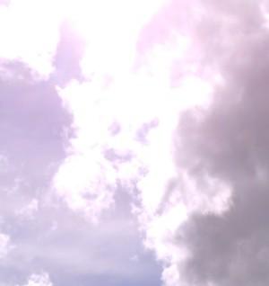 bigsky sun with cloudbreaks closer