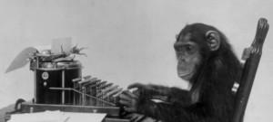 Chimpanzee_seated_at_typewriter