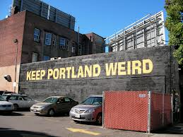 Dress me up weird Portland