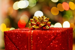 a-christmas-gift in public domain