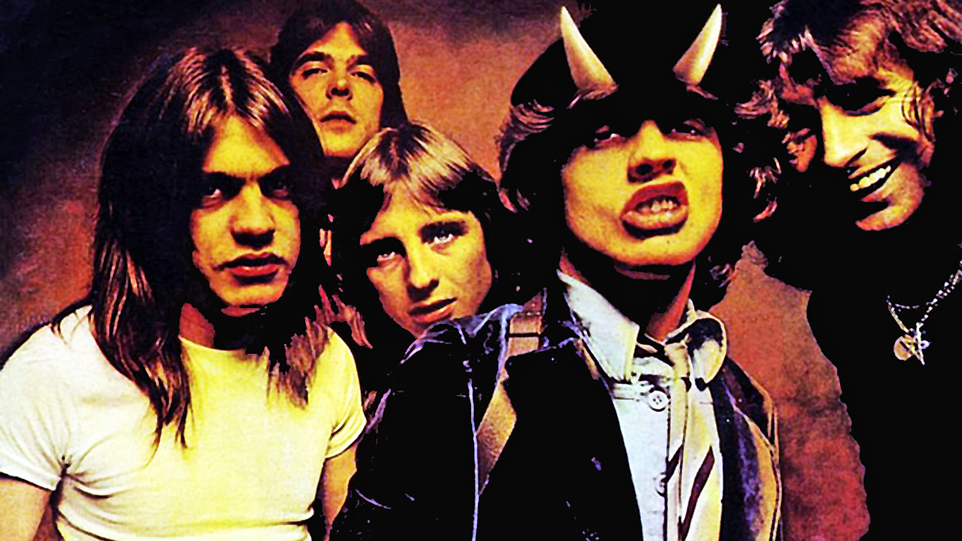 Middle Acdc Music Bands Album Covers Angus Young Hd Wallpapers