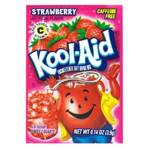 Strawberry Kool-Aid---OH YEAH!