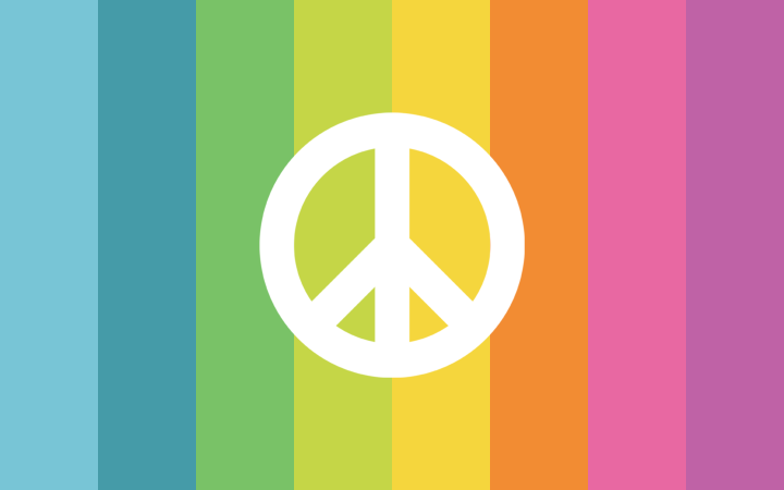 Uni Minimalistic Peace Sign Hd Wallpapers Life Is Color