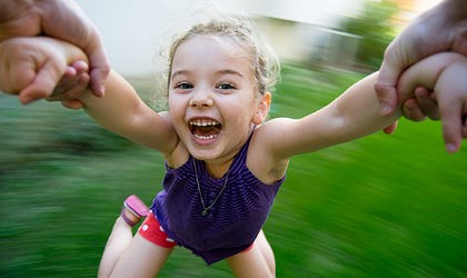 your inner child is having fun! by public domain
