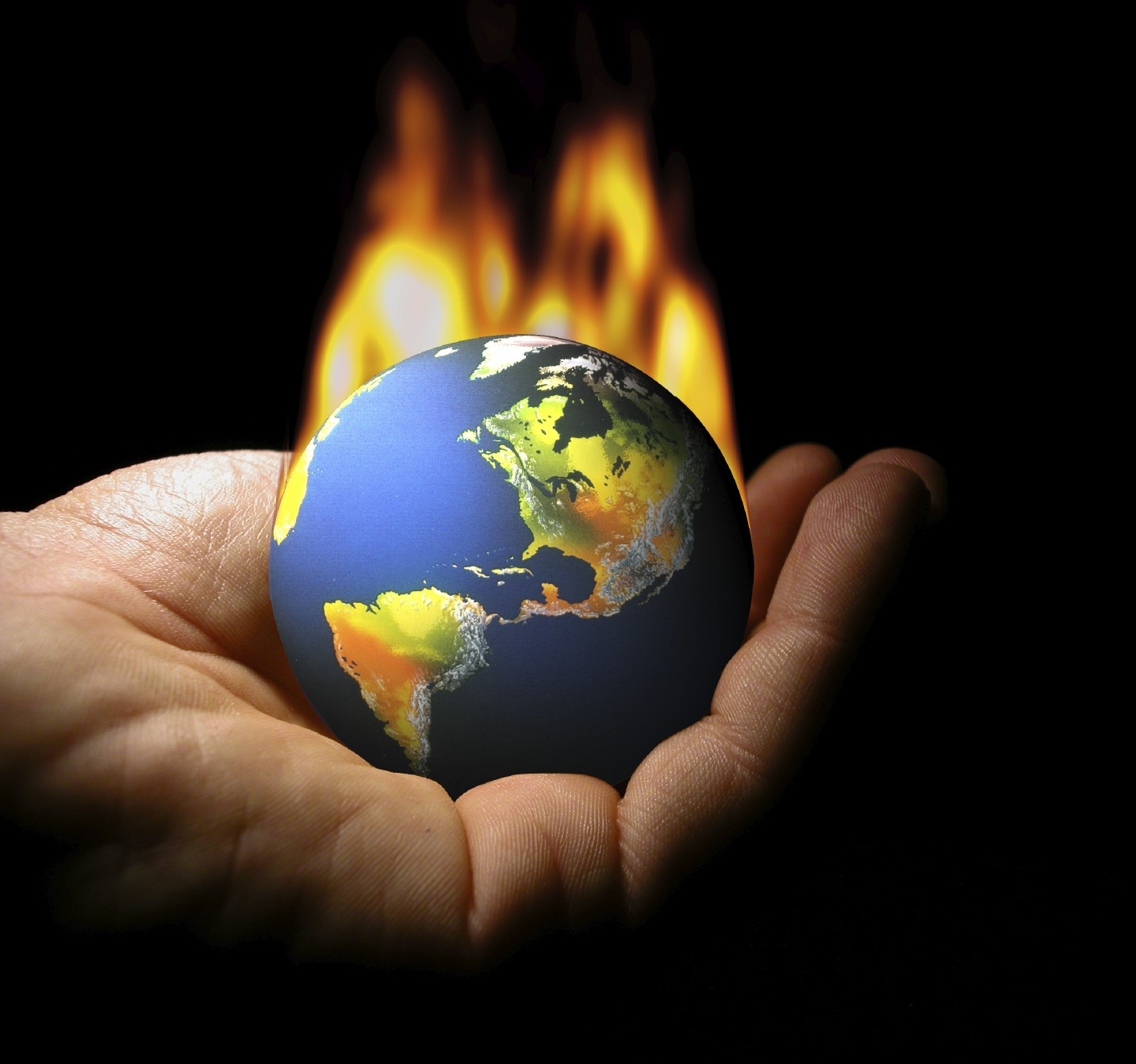 I don't want to set the world on fire...I just want to put a flame in your heart...