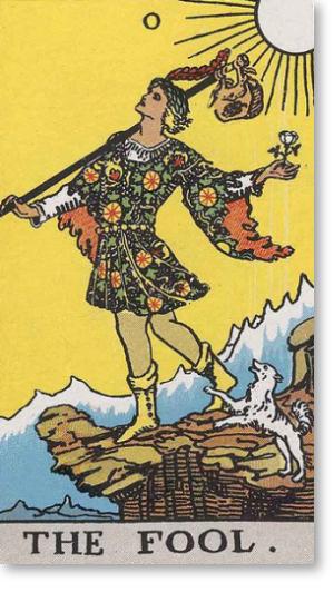 fool the fool tarot card
