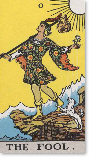 fool the fool tarot card