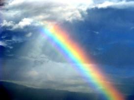 Through the Rainbow, public domain