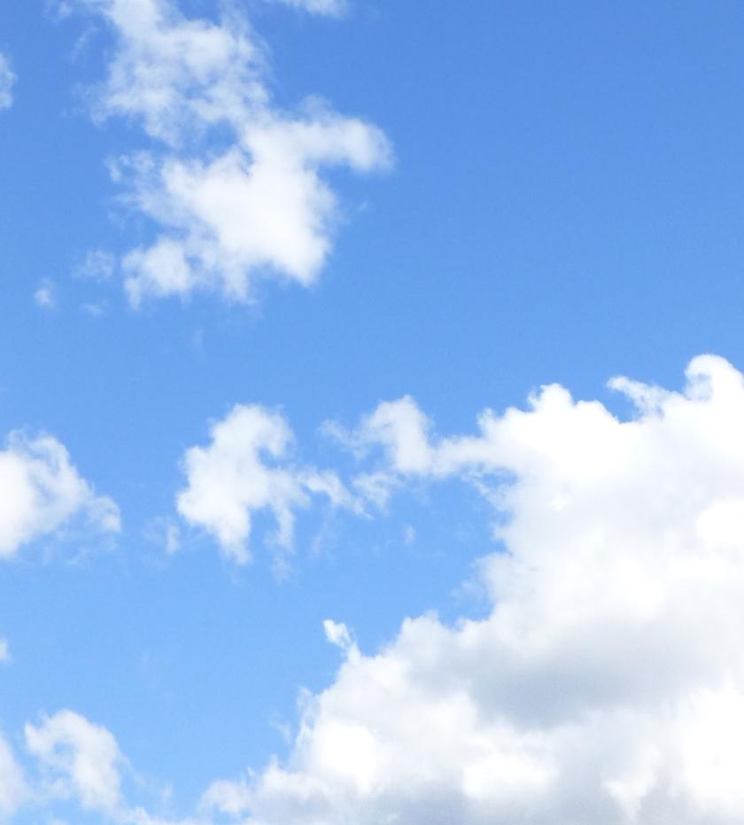 color blue skies