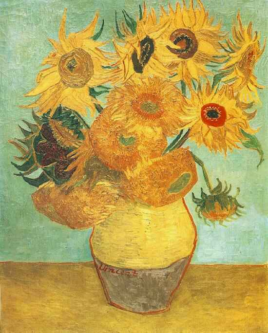 Van_Gogh_Twelve_Sunflowers wikimedia commons