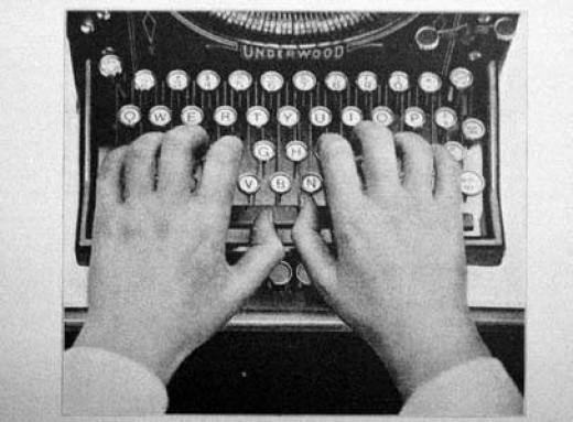 writers typewriter vintage