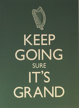 keep going it's grand