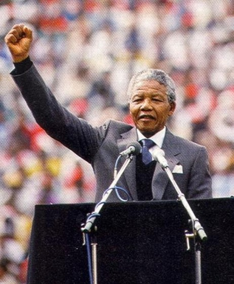 """""""There is no easy walk to freedom anywhere, and many of us will have to pass through the valley of the shadow of death again and again before we reach the mountaintop of our desires."""" ~Nelson Mandela"""