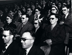 People audience 3d movie