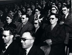 People audience 3d movie