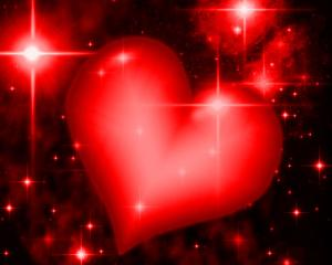 red-heart-with-starry-background