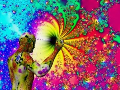 Peace1-random psychodelic color art
