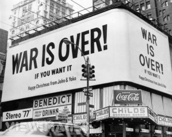 war-is-over if you want it lennon christmas