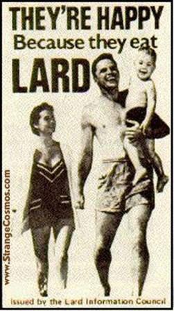 att00025 vintage odd strange lard