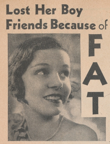 because of fat women exercise vintage