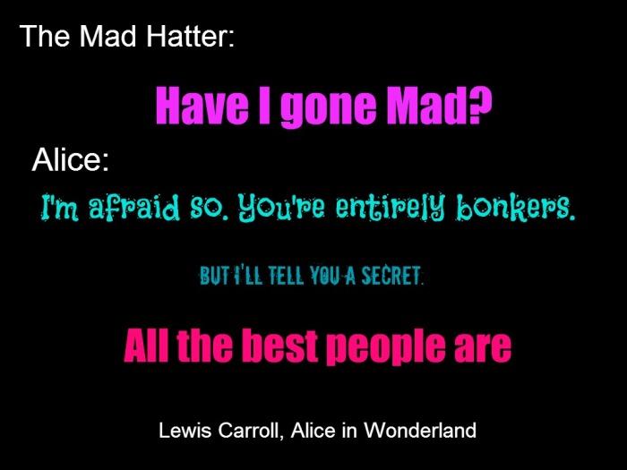 quote mad carrol 1 black