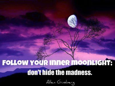 quote moon ginsberg moon purple