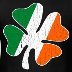 Big-Vintage-IRISH-Flag-Shamrock