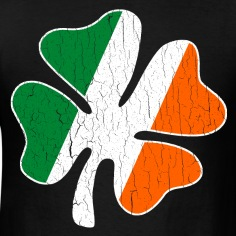 Big-Vintage-IRISH-Flag-Shamrock