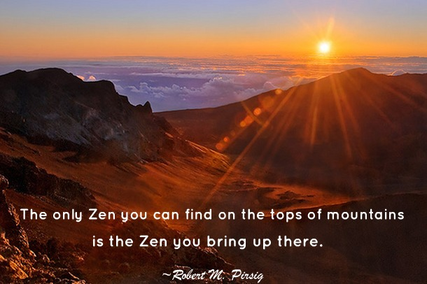 quote zen Mount-Haleakala-Hawaii