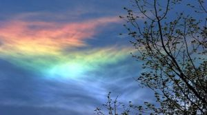 fire rainbow sky color