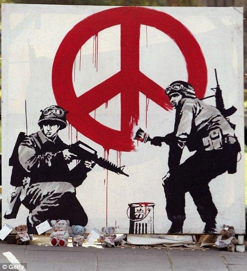 Graffiti Artist Banksy