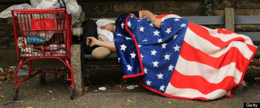 POVERTY-AMERICA- poor homeless