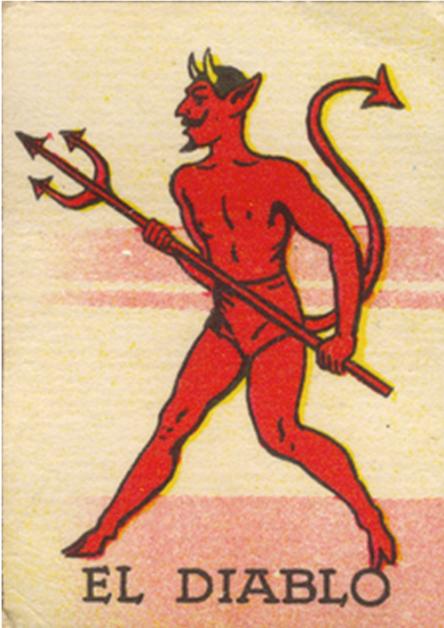 el diablo devil vintage creepy