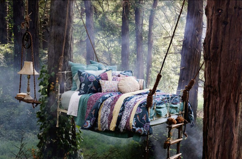 fantasy bed forest nap Photo by Ditte Isager