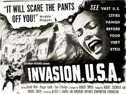 vintage fear invasion