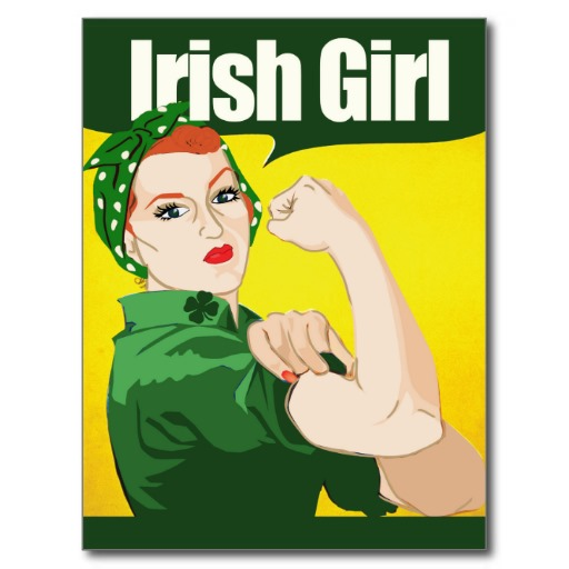 irish_girl_vintage_rosie_riveter  Irish vintage