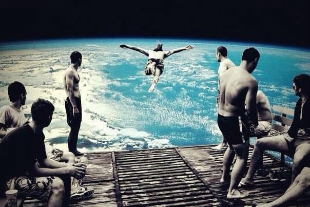 art earth jumping off