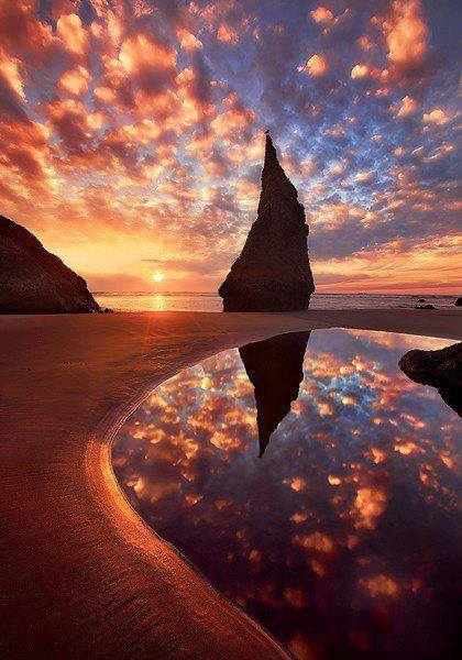 Wizard's Hat in Bandon on the Oregon Coast