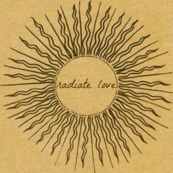 sun radiate love quote