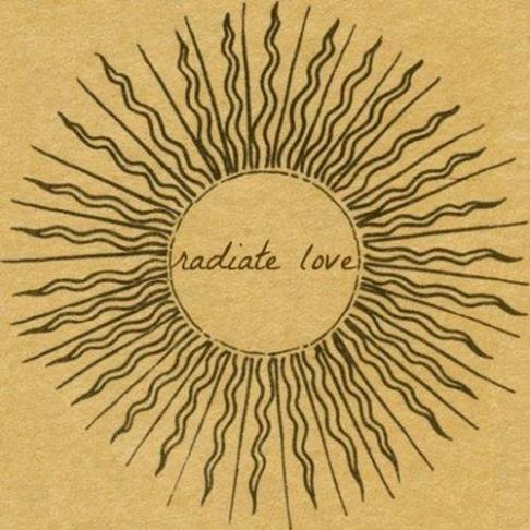 sun radiate love quote