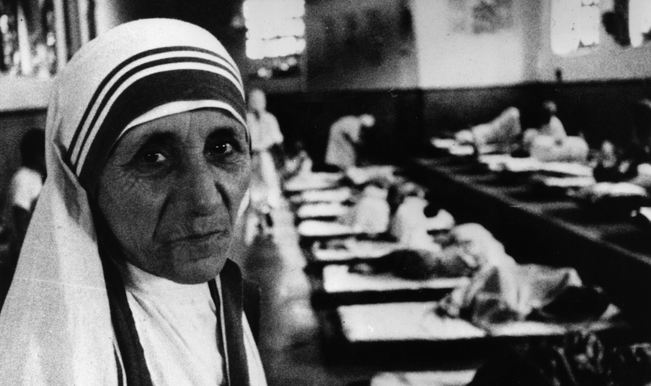 Mother Teresa in her hospital. 1971. Credit Getty Images