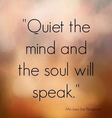 quote quiet still
