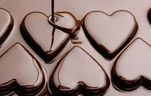 heart -hearts chocolate love