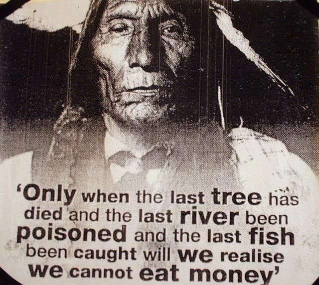 Cree Indian Prophecy