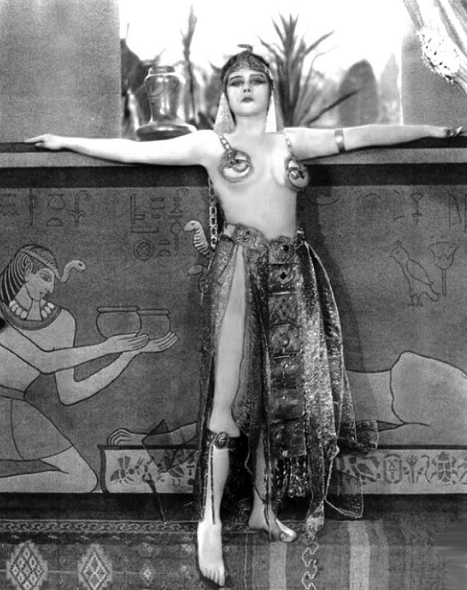 Theda Bara as the star of Cleopatra