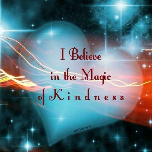 magic of kindness